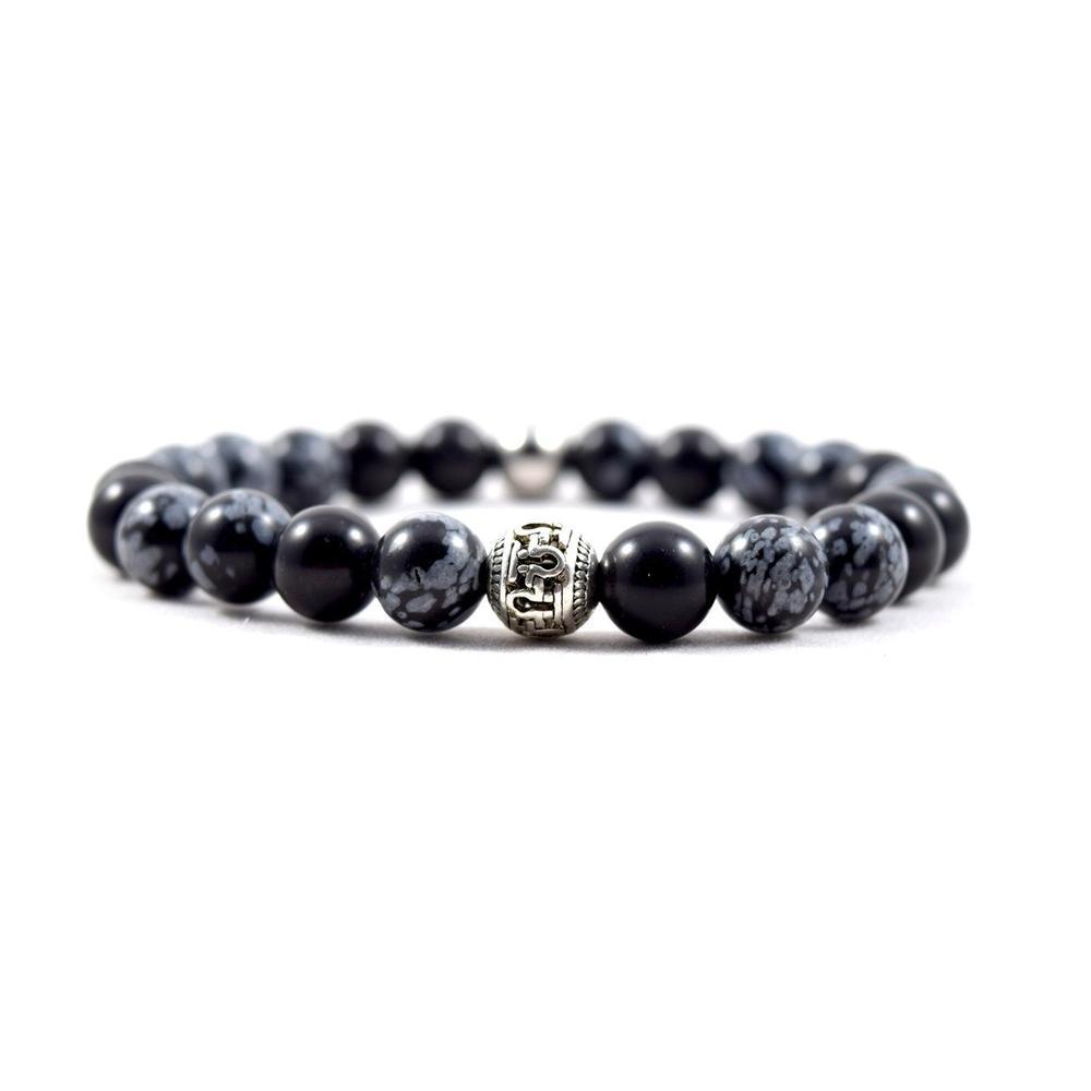 Omega Black Snow Bracelet   Executive Society