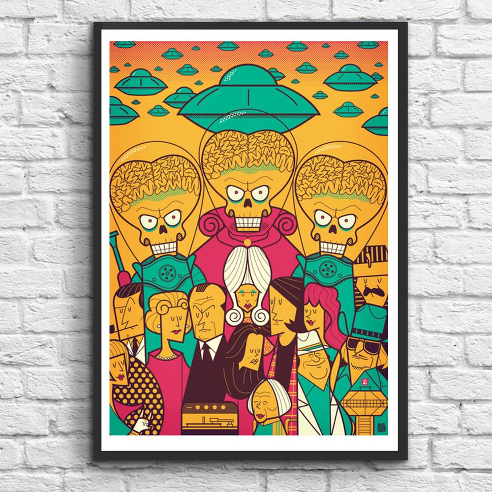 MARS ATTACKS! | Ale Giorgini Art