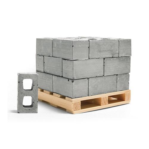 1:12 Cinder Blocks: 24 Pack + Pallet