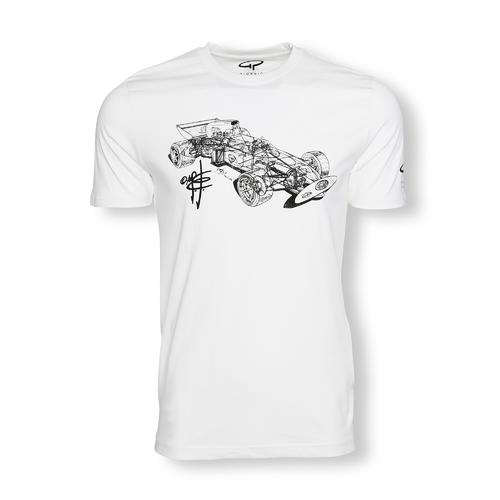 GIORGIO PIOLA MARCH 721 X-RAY T-SHIRT MENS  |  SMALL
