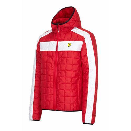 Scuderia Ferrari Packable Padded Jacket Mens