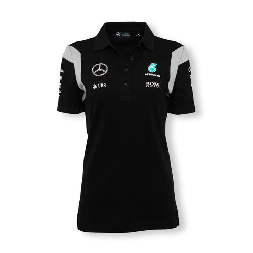 Mercedes Amg Petronas Polo Shirt Womens 2016 Replica