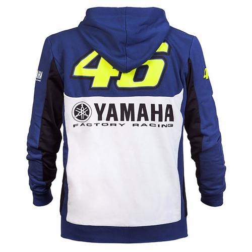 YAMAHA VALENTINO ROSSI ZIP UP HOODIE MENS |  Moto GP Apparel