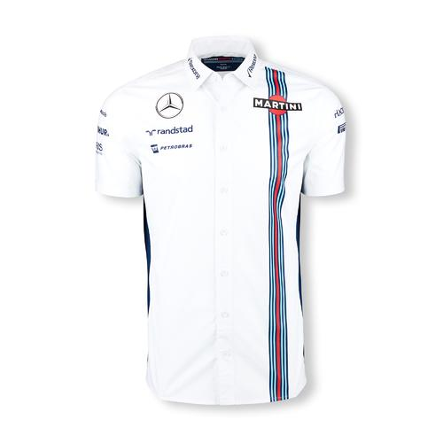 WILLIAMS MARTINI RACING SHIRT MENS 2016 REPLICA