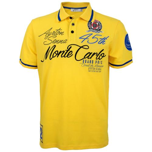 AYRTON SENNA MONACO CHAMPION POLO MENS
