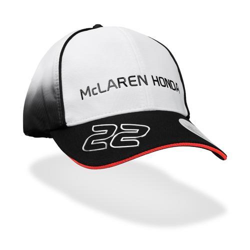 MCLAREN HONDA JENSON BUTTON CAP | Motorstore