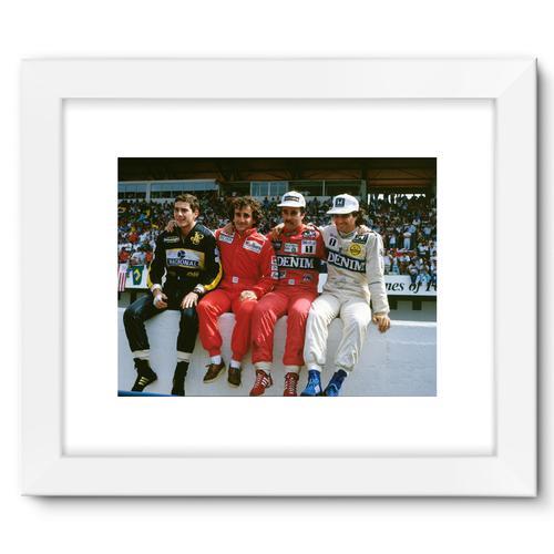 1986 Portuguese Grand Prix Championship Contenders | White