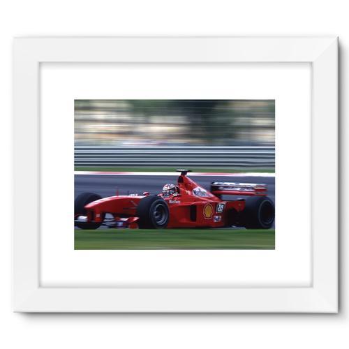 Michael Schumacher, Ferrari | White