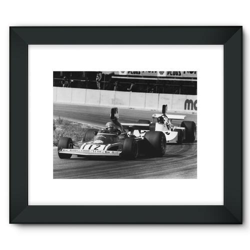Niki Lauda AND James Hunt - 1974 | Black
