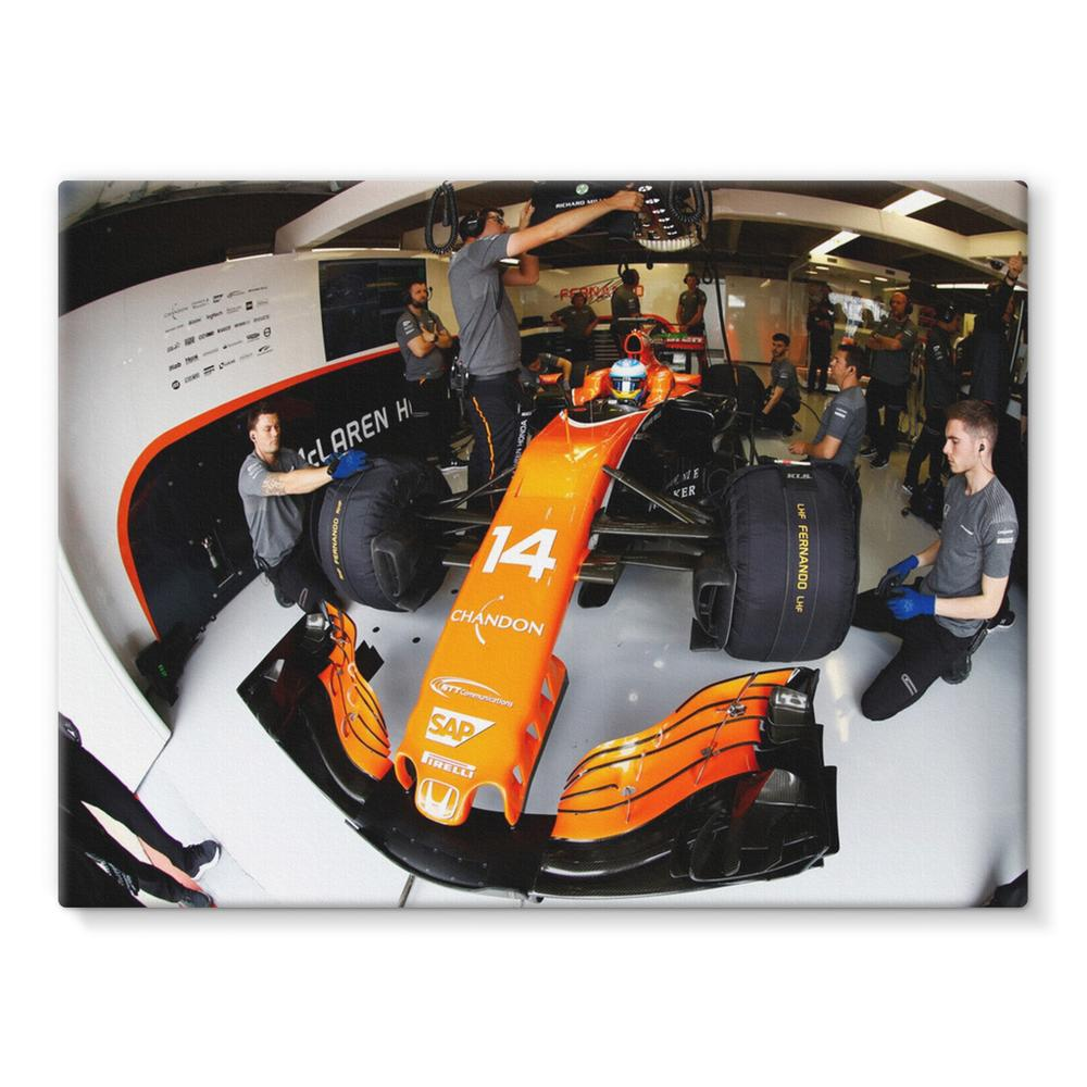 Fernando Alonso, McLaren MCL32 | Motorstore Gallery